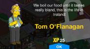 Tom O'Flanagan Unlock Screen