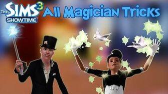 The Sims 3 Showtime All Magician's Magic Tricks