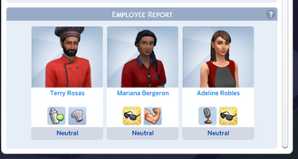 Restaurant Employee Report