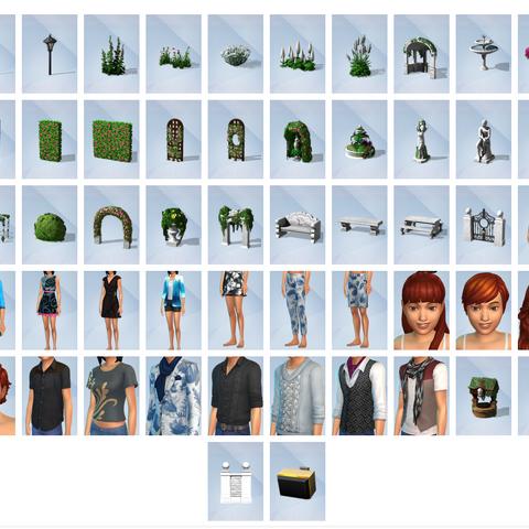 Los sims 4 jard n rom ntico accesorios simspedia wikia for Sims 4 jardin romantico