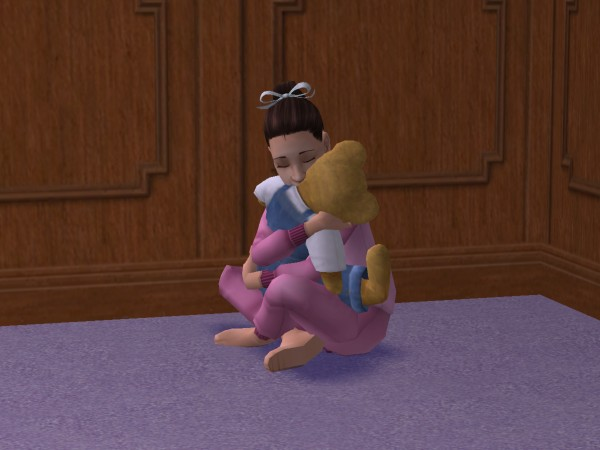 File:Lucinda hugging her teddy bear.jpg