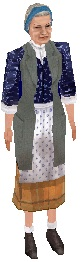 TS1 Janitor Sonya