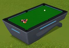 Newtonian Plane Pool Table by Corebital Designs
