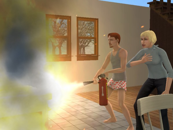 File:Scats and Sandy put out a fire.jpg