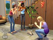 Sims 2 pets unused shirt