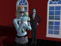 Count Dracula, Carina and newborn Adrian De Crypt