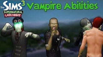 The Sims 3 Late Night & Supernatural Vampire Abilities