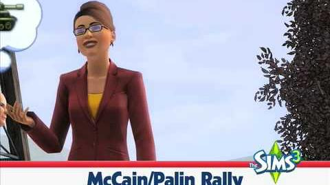 The Sims 3 Election Coverage Rallying the Voters