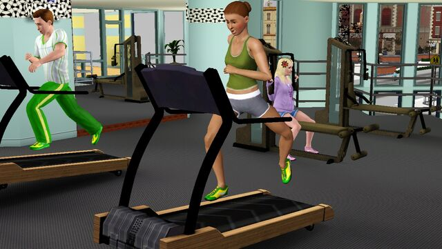 File:Justine working out on treadmill.jpg