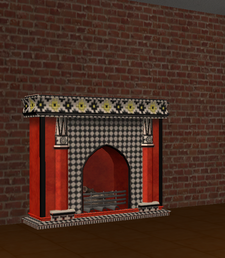 Ts2 casbah casuals fireplace by 40 thieves ltd