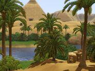 Oasis in Al Simhara