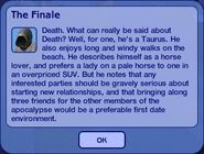 The Finale - Grim Reaper Dialogue 2