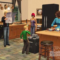 Los sims 2 cocina y ba o dise o de interiores for Diseno de interiores wiki
