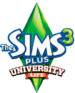 The Sims 3 Plus University Life Logo