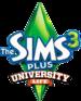The Sims 3 Plus University Life Logo