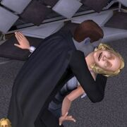 Vampire turning a Sim
