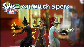The Sims 2 Apartment Life All Witch Spells