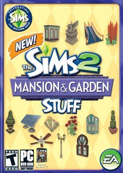 The Sims 2 Mansion & Garden Stuff Cover