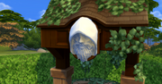 Whispering Wishing Well Hooded Face