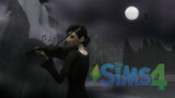 TS4 Cassandra playing violin