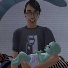 Инопланетянин-младенец