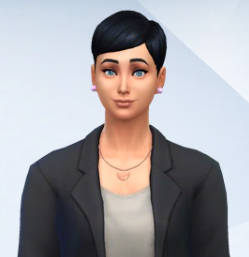 Ladah-Agnetha Lyngstad (The Sims 4)