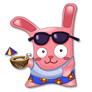 File:Freezer Bunny beach sticker.png