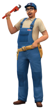 Repairman render TS4
