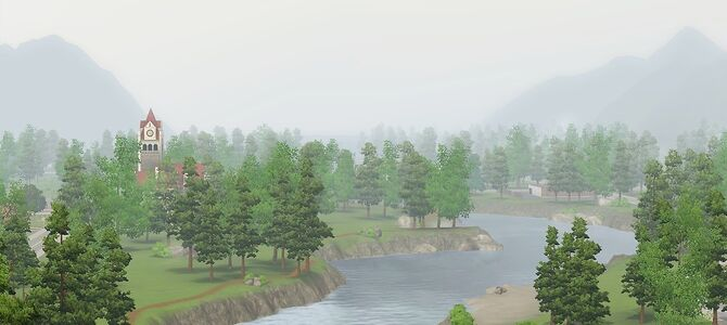 Moonlight Falls mist