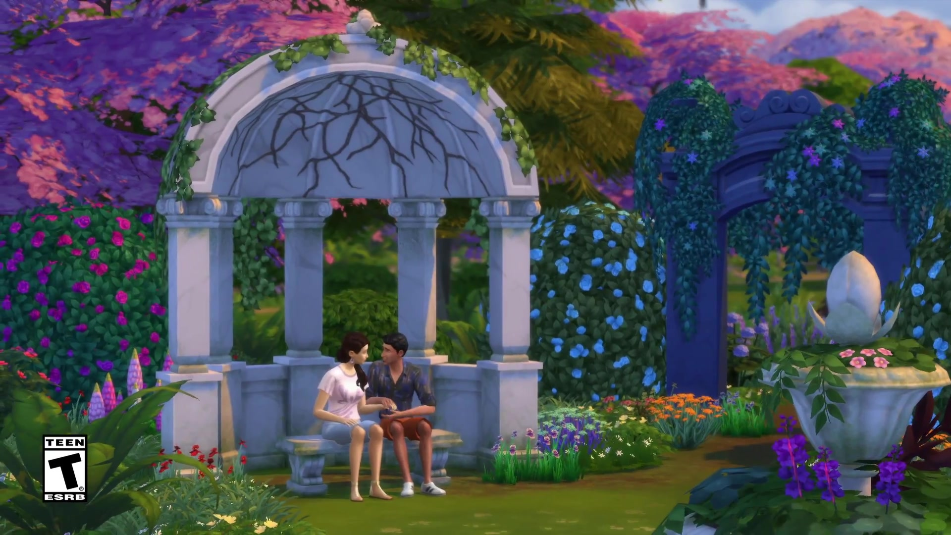 The-sims-4-romantic-garden-stuff--official-trailer