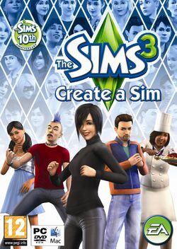 The Sims 3 Create-A-Sim cover