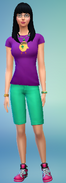 Geeky Kimmy Thammavong Full Body (The Sims 4)