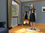 Sarah Peasant's fashion look