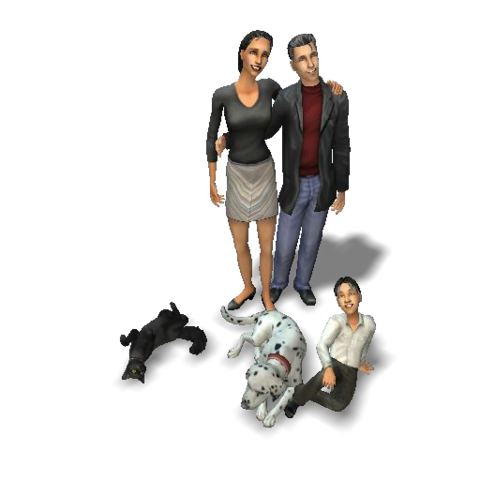 File:Kim family (The Sims 2).png
