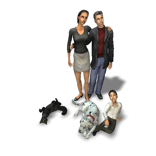 how to make a good family in sims 3