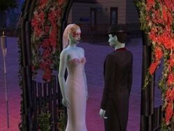 Carina and Count Dracula De Crypt