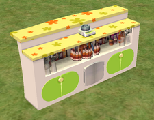 Ts2 way fluid island bar