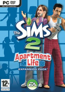 The Sims 2 Apartment Life Cover
