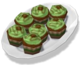 Cupcake-Minty Mocha