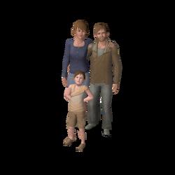 Larson family (Oasis Landing)