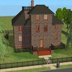 Das Zuhause der Familie Grusel in <i>Die Sims 2</i>