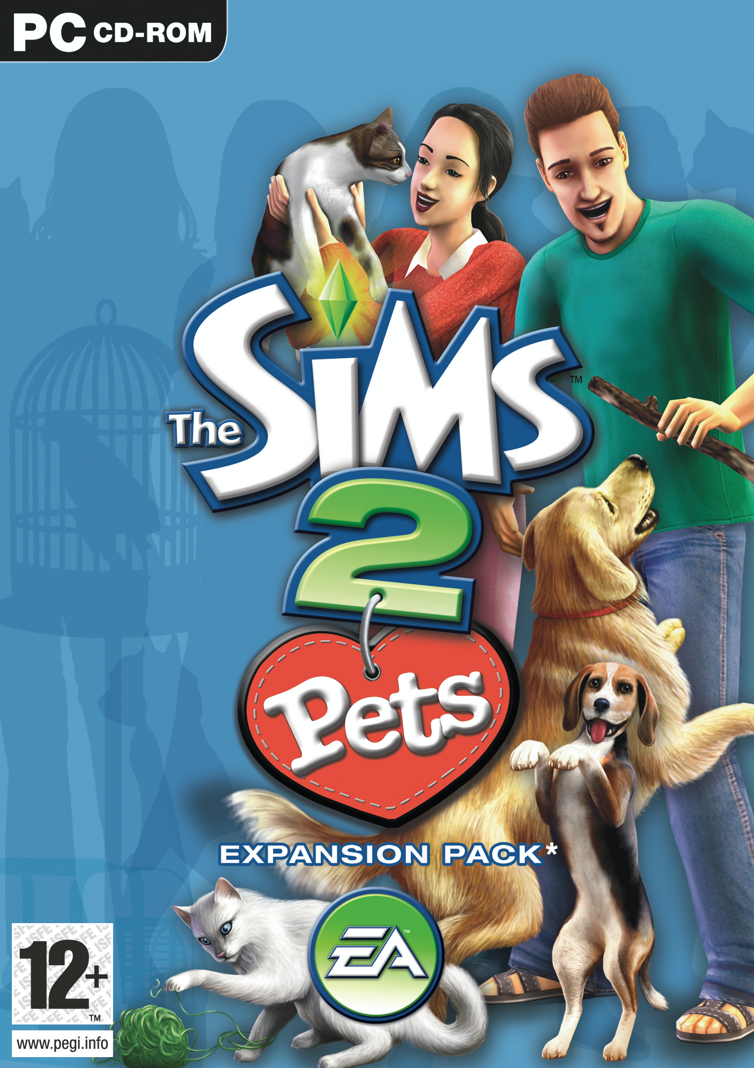 The Sims 2 Pets Cover