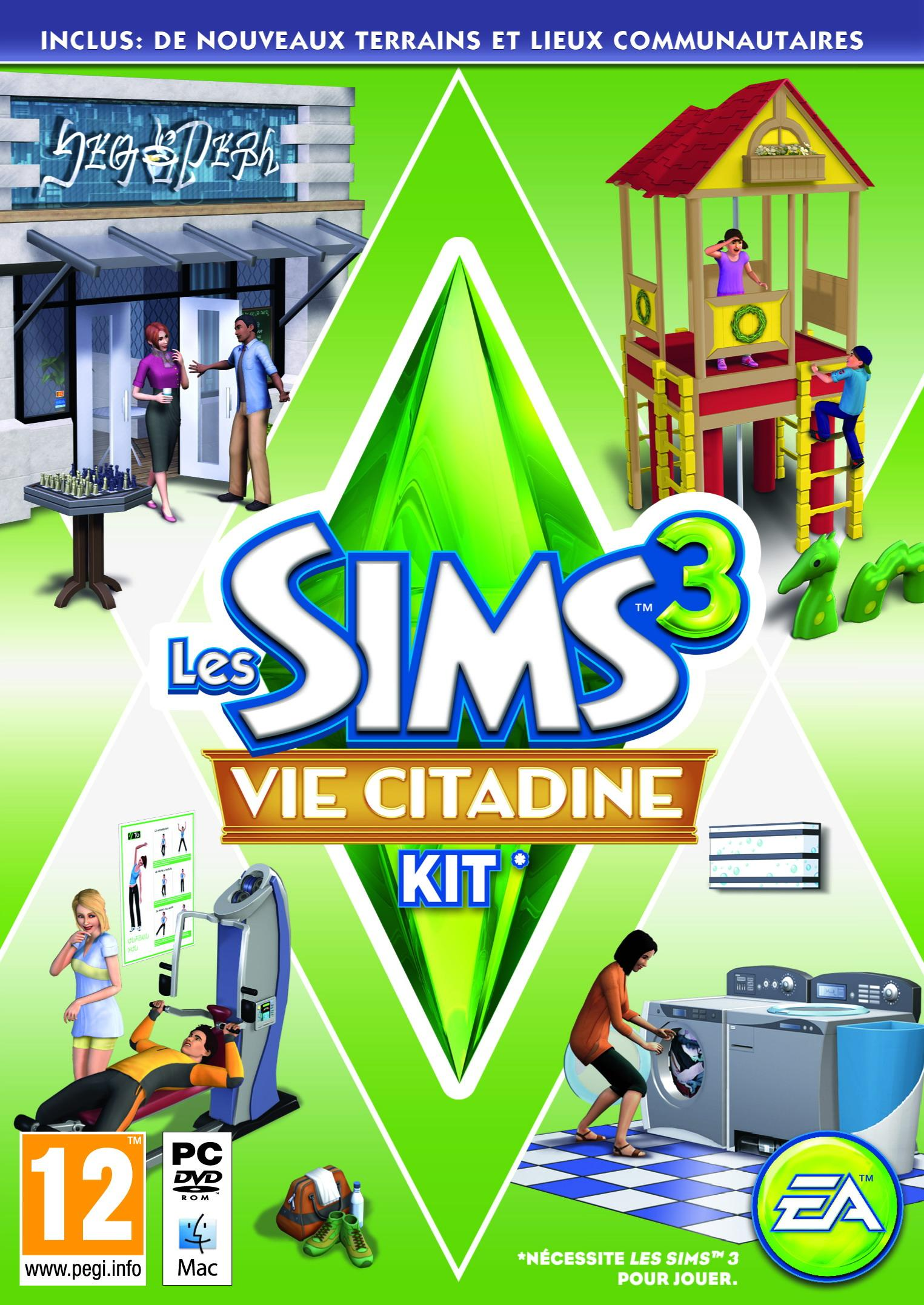 Les Sims 3 Showtime Edition Collector Katy Perry: Les Sims 3: Vie Citadine