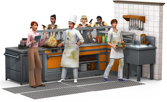 File:The Sims 4- Dine Out Render.png