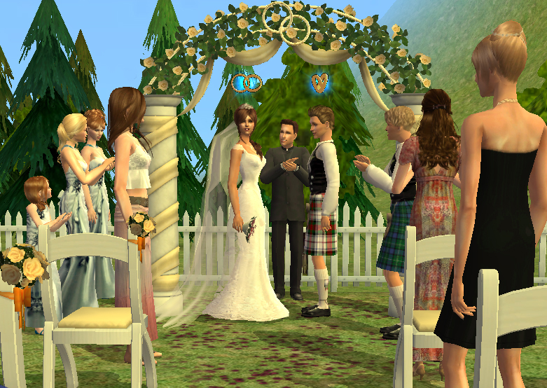How To Get Wedding Cake Sims