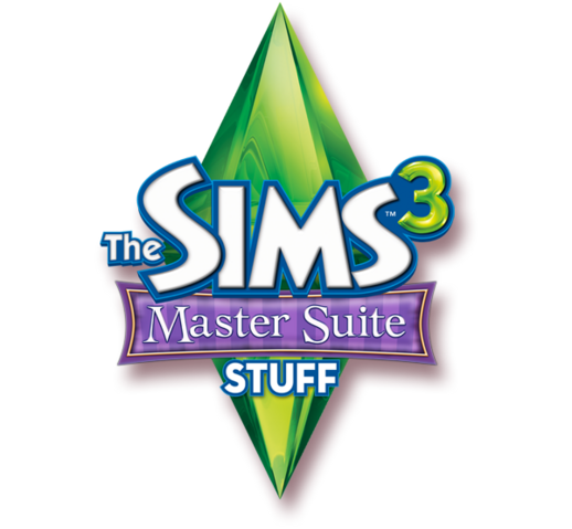 File:The Sims 3 Master Suite Stuff Logo.png