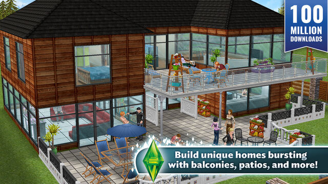 game android the sims free play