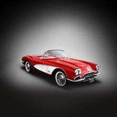 Do you Johnny's car, the 1960 Corvette.