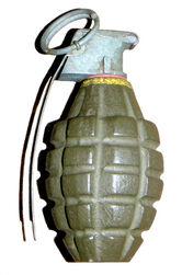 MK2 grenade DoD