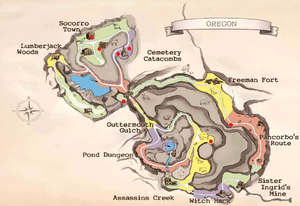 Crystal skull locations
